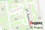 Схема проезда до компании Lotos-M Trade в Алматы