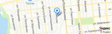 TemirAvto на карте Алматы