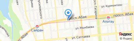 ReCar на карте Алматы