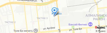 Берекет на карте Алматы