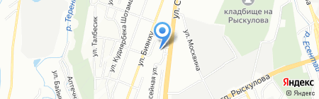 Мега-Строй KZ на карте Алматы