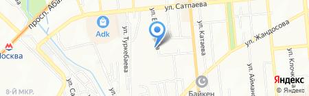 Норма-К на карте Алматы