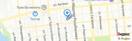 100 пудов на карте Алматы