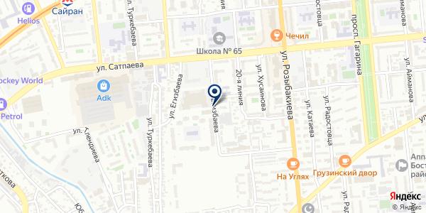 ПЕРЕГОН на карте Алматы
