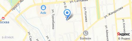 Атамекен на карте Алматы