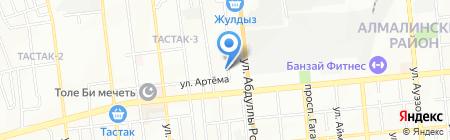 Детский сад №3 на карте Алматы