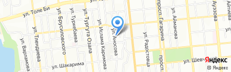 Автолидер на карте Алматы