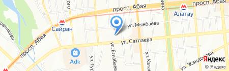 Общеобразовательная школа №65 на карте Алматы
