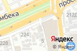 Схема проезда до компании Asdecor в Алматы