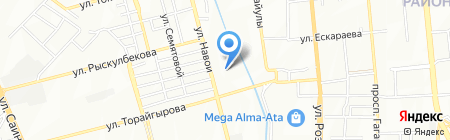 Шахристан на карте Алматы