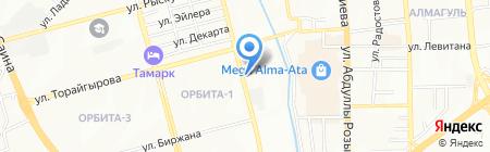 Успех на карте Алматы