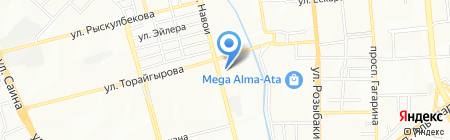 Дания продуктовый магазин на карте Алматы