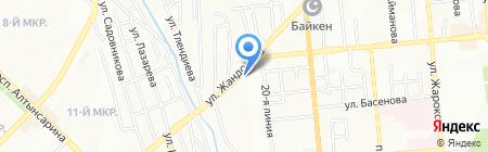 Доктор ZOO на карте Алматы
