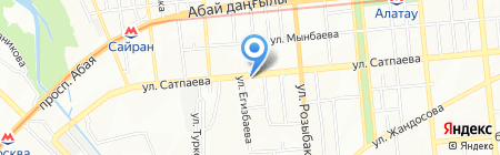 Банкомат КАЗПОЧТА на карте Алматы