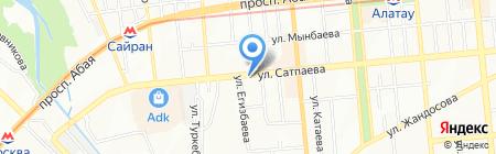 Банкомат Kaspi bank на карте Алматы