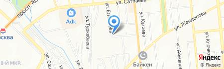 Box & Blocks на карте Алматы