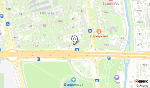 Каганат. Схема проезда в Алматы
