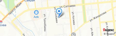 РТС Конструктив на карте Алматы