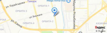 Мечта хозяйки на карте Алматы