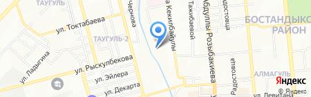 Республиканский клинический госпиталь для инвалидов Отечественной войны на карте Алматы