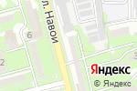 Схема проезда до компании Медикер в Алматы