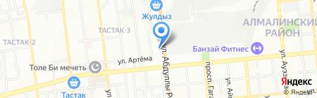 Компания по аренде и ремонту автовышек на карте Алматы