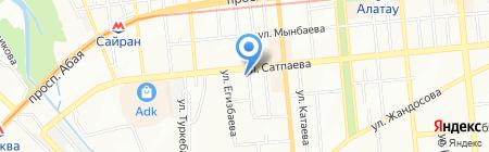 Каймаков и Партнеры на карте Алматы