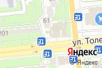 Схема проезда до компании #НАДОНЫШКЕ в Алматы
