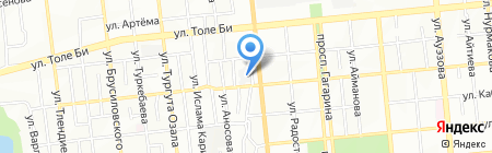 СТО на ул. Карасай батыра на карте Алматы