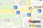 Схема проезда до компании What`s Up в Алматы