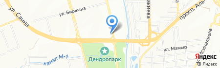 Инь-Янь на карте Алматы