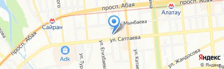 Металл на карте Алматы
