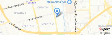 Ятаган на карте Алматы