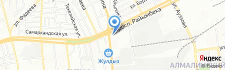 Asia Form на карте Алматы