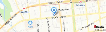 Каприз на карте Алматы