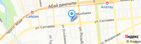 KGM на карте Алматы
