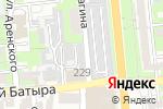 Схема проезда до компании МАТ И ГЛЯНЕЦ в Алматы