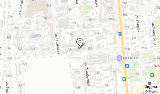 АВТОМЕРИАЛ. Схема проезда в Алматы