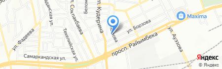 ММЯ-Сервис ТОО на карте Алматы