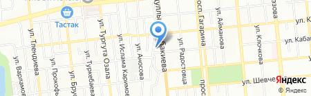 Деревня Банино на карте Алматы