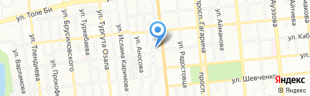 Айболит на карте Алматы