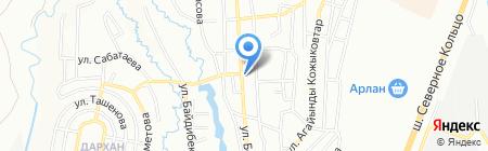 Ожет на карте Алматы