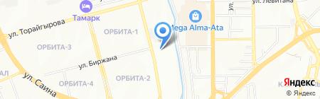 Виктория продовольственный магазин на карте Алматы