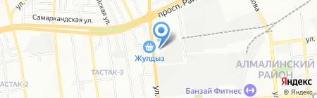 TOIMART на карте Алматы