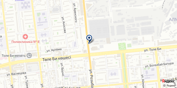 DecorStyle Almaty на карте Алматы