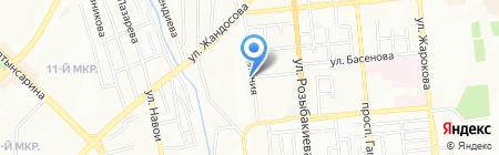 САВО на карте Алматы