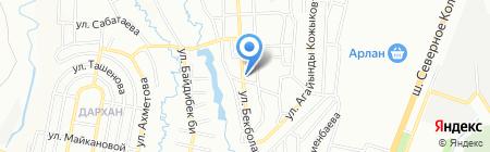 Алпысбай на карте Алматы