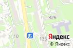 Схема проезда до компании Дареджани в Алматы
