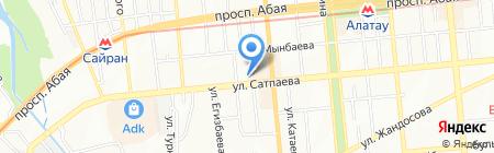Шик Дент на карте Алматы
