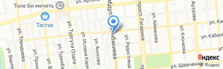 Аннён на карте Алматы